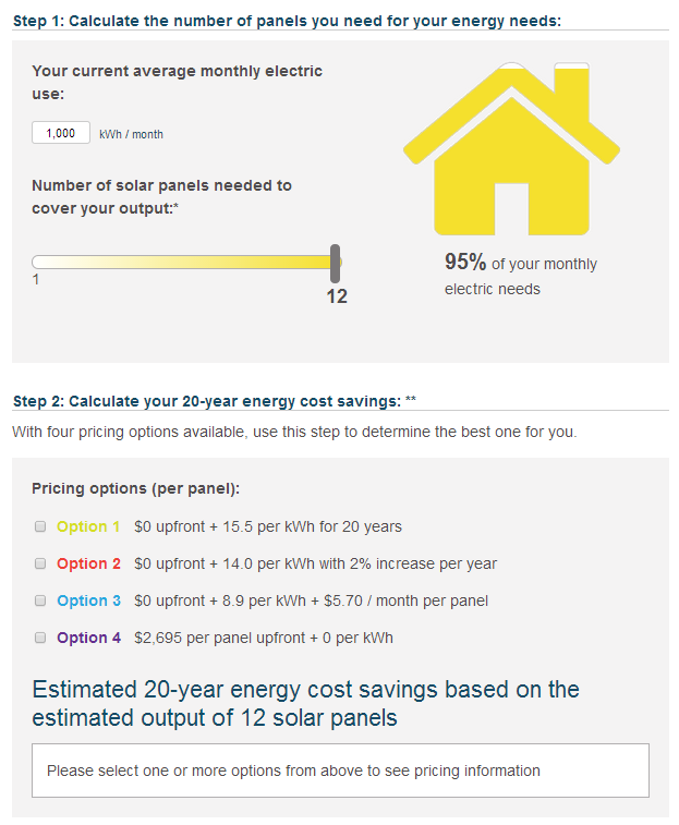 Find out how many solar panels you would need to power your home