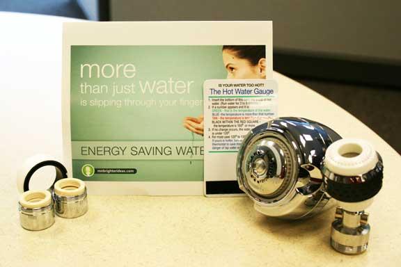 Energy saving water kits for Energy efficiency kit