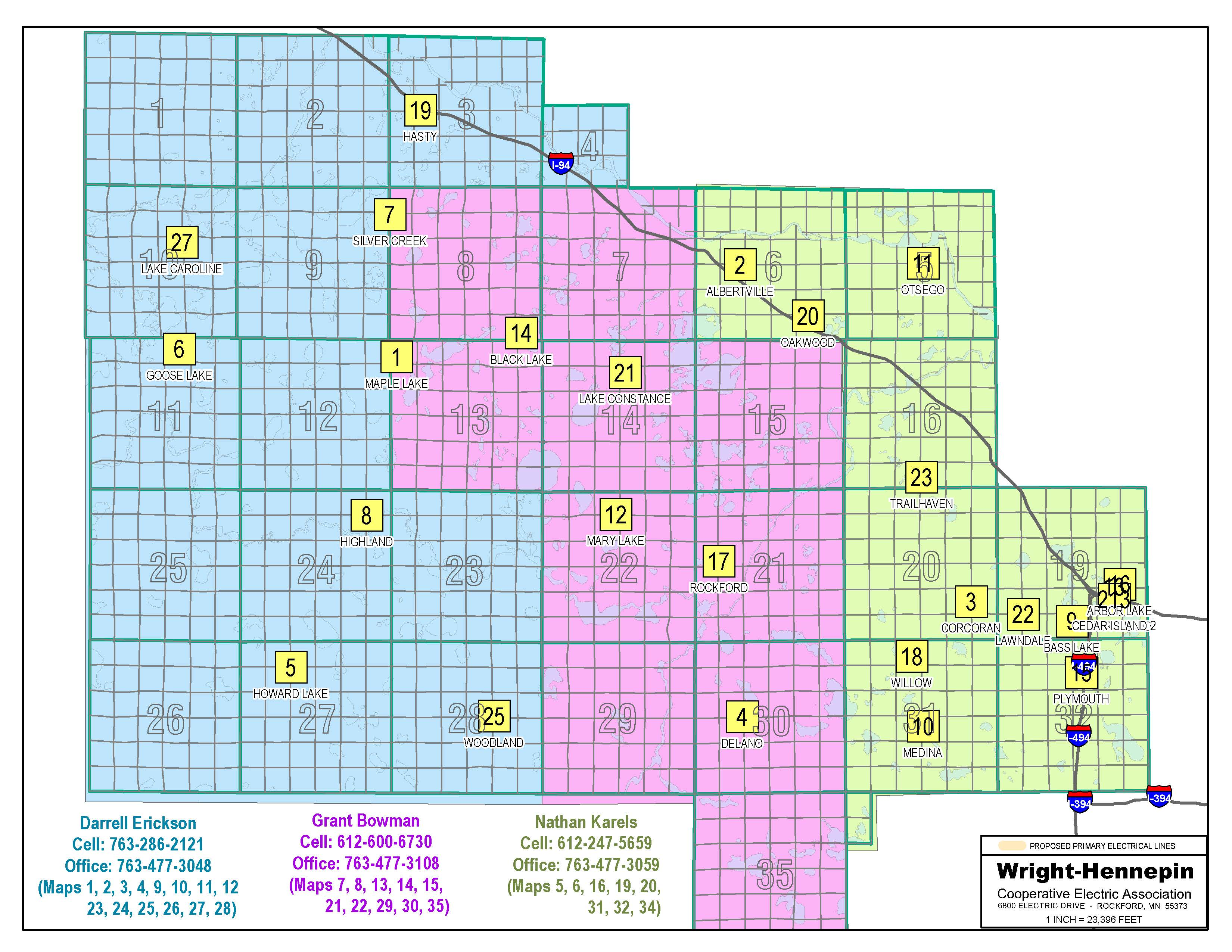 EUC map area - Wright-Hennepin Electric