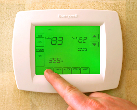 Programmable thermostats can help save energy