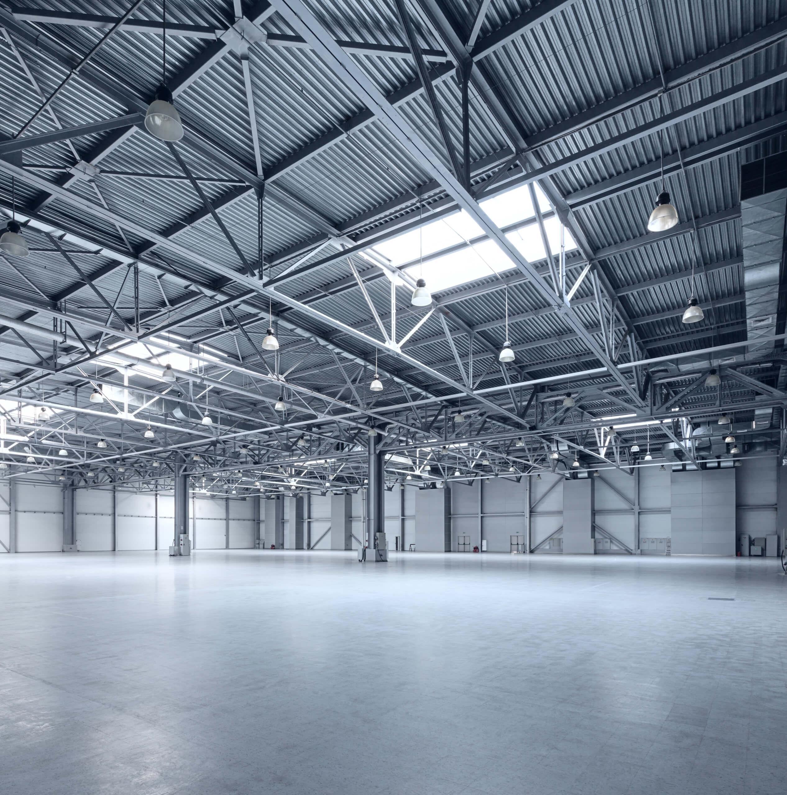 Large garage rafters