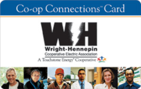 WH's Co-op Connections card