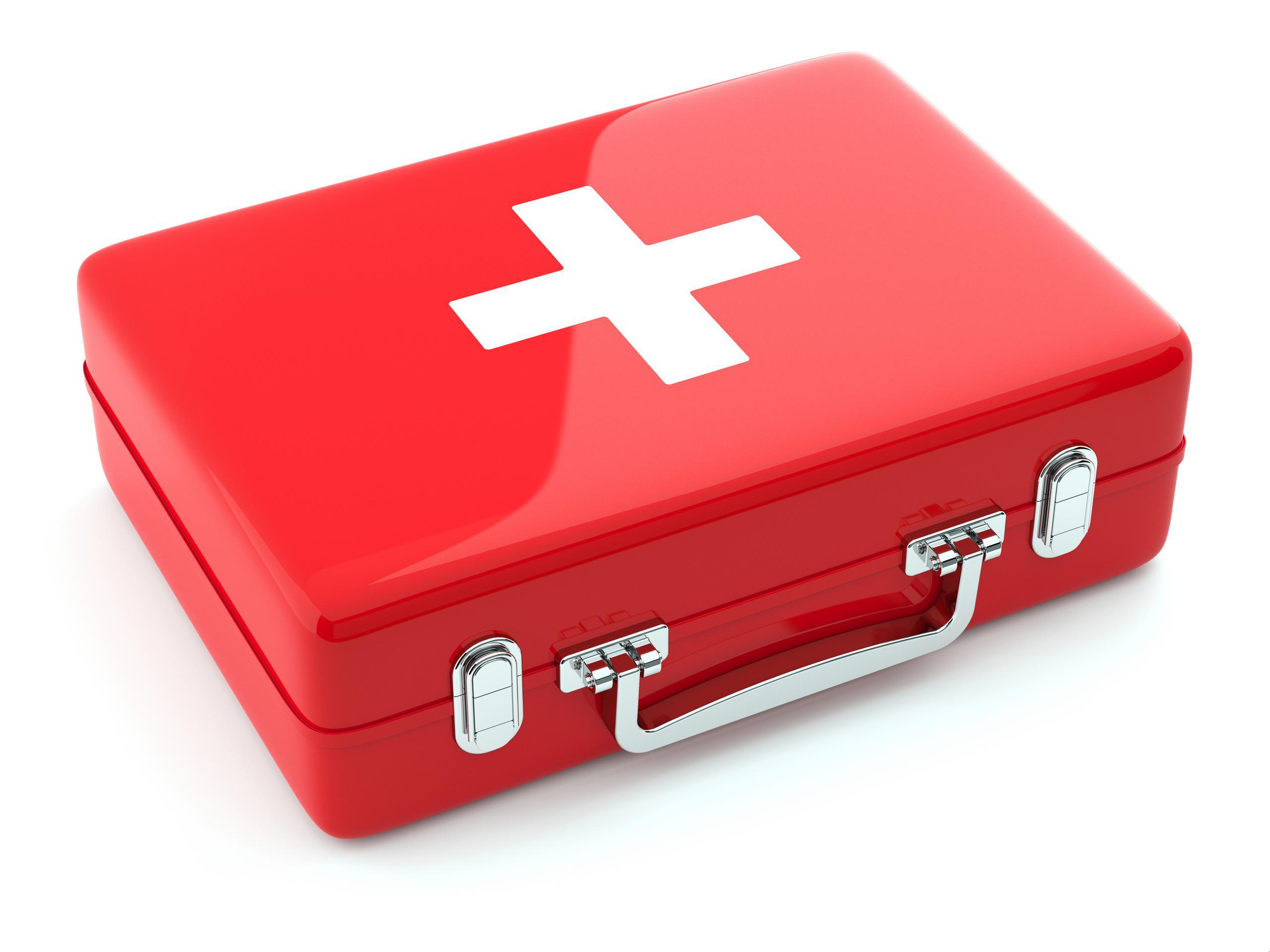 First aid medical box